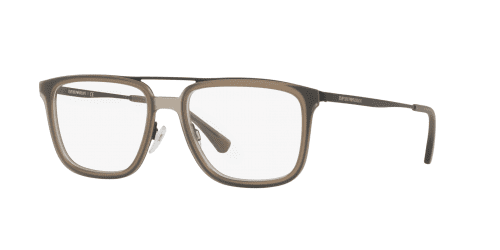 Emporio Armani EA1073 3001 Matte Black/Brown