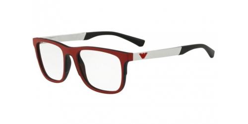 Emporio Armani EA3133 5666 Matte Black/Red