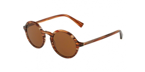 Dolce & Gabbana DG4342 318973 Striped Orange