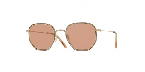 Oliver Peoples ALLAND OV1233ST OV 1233ST 5035P0 Soft Gold