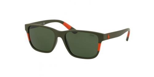 Polo Ralph Lauren PH4137 521671 Matte Olive/Orange