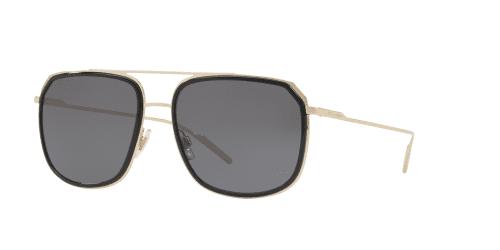 Dolce & Gabbana Dolce & Gabbana DG2165 488/81 Black/Pale Gold Polarised