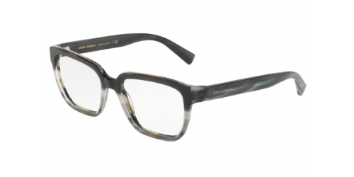 Dolce & Gabbana DG3282 SWING 3157 Black Gradient Blue Horn