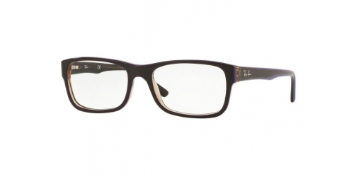 Ray-Ban RX5268 5816 Transparent Brown on Violet