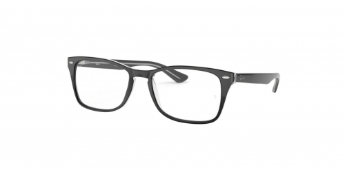 Ray-Ban RX5228M RX 5228M 2034 Transparent on Top Black