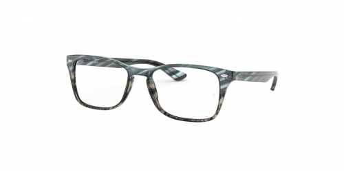 57a6371915 Ray-Ban RX5228M RX 5228M 5839 Blue Gradient Grey Striped