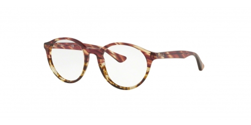 Ray-Ban RX5361 5838 Pink Gradient Striped Beige