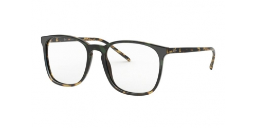 Ray-Ban RX5387 5873 Green Gradient Havana Yellow