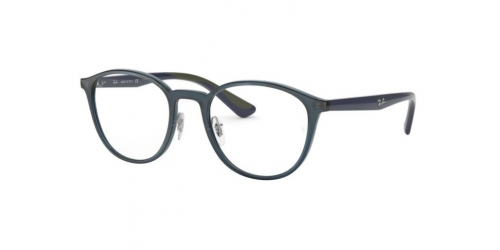 Ray-Ban RX7156 5796 Transparent Dark Blue