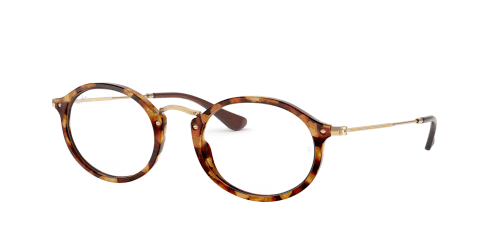 Ray-Ban RX2547V RX 2547V 5494 Brown Havana