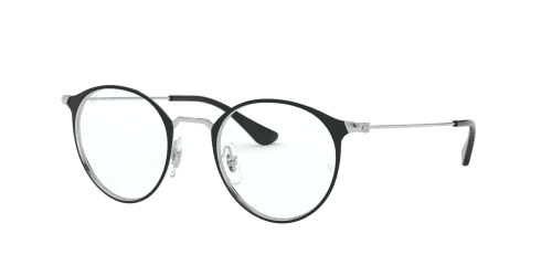 Ray-Ban RX6378 2861 Silver on Top Black