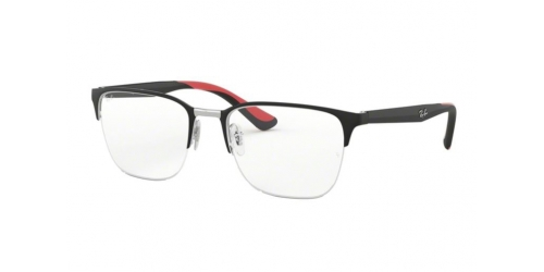 Ray-Ban RX6428 2997 Silver on Top Matte Black