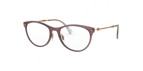 Ray-Ban RX7160 5868 Demi Gloss Burgundy