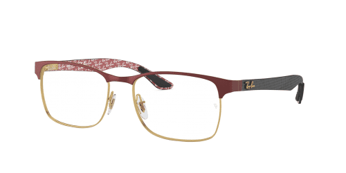 Ray-Ban Ray-Ban RX8416 3015 Gold on top Matte Bordeaux