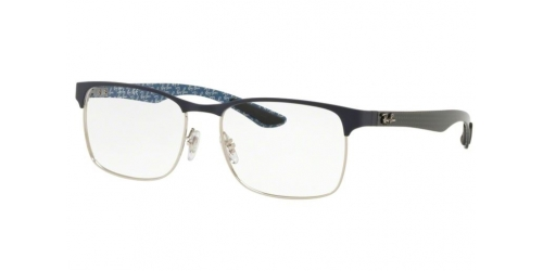 Ray-Ban RX8416 3016 Silver on Top Matte Blue