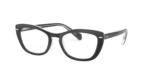 Ray-Ban Ray-Ban RX5366 2034 Top Black on Transparent