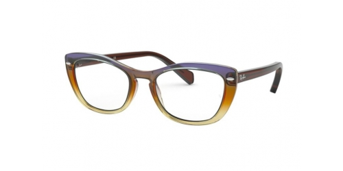Ray-Ban RX5366 5836 Tri Gradient Brown/Violet/Yellow