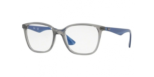 Ray-Ban RX7066 5769 Transparent Grey/Blue