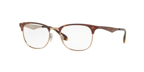 Ray-Ban RX6346 2971 Copper on Top Havana