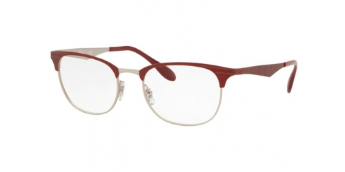 Ray-Ban Ray-Ban RX6346 3021 Matte Silver on Top Matte Red