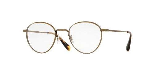 Oliver Peoples WATTS JAPANESE TITANIUM OV1224T OV 1224T 5124 Antique Gold