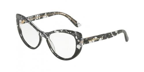 Dolce & Gabbana DG3285 3152 Black Lace Gradient