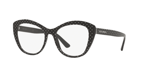 Dolce & Gabbana Dolce & Gabbana DG3284 3126 Pois White on Black