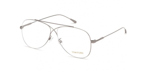 Tom Ford TF5531 014 Shiny Light Ruthenium