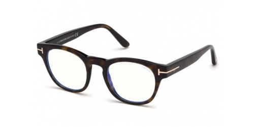 Tom Ford TF5543-B Blue Control TF 5543-B 052 Dark Havana
