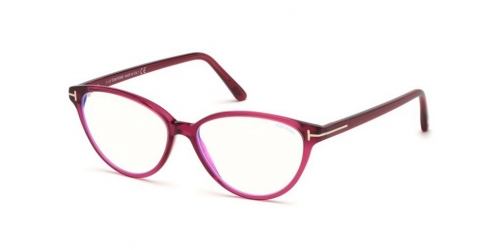 Tom Ford TF5545-B Blue Control TF 5545-B 075 Shiny Fuxia