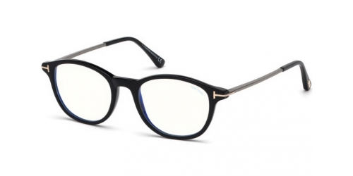 b7e719d72ed Tom Ford TF5553-B Blue Control TF 5553-B 001 Shiny Black
