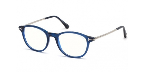 Tom Ford TF5553-B Blue Control TF 5553-B 090 Shiny