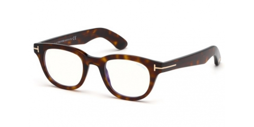 Tom Ford TF5558-B Blue Control TF 5558-B 052 Dark Havana