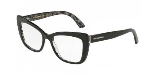 18f6a20210c2 Black or Crystal Glasses Dolce   Gabbana