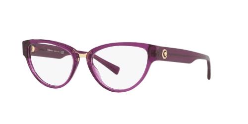 Versace Versace THE CLANS VE3267 5291 Transparent Violet