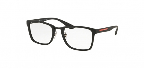 Prada Linea Rossa SPECIAL PROJECT PS06LV ACTIVE PS 06LV DG01O1 Black Rubber