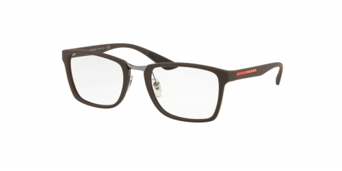 Prada Linea Rossa SPECIAL PROJECT PS06LV ACTIVE PS 06LV VYY1O1 Brown Rubber