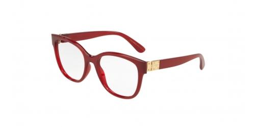 5dbb42d1ae24 Dolce   Gabbana STONES   LOGO PLAQUE DG5040 1551 Transparent Bordeaux