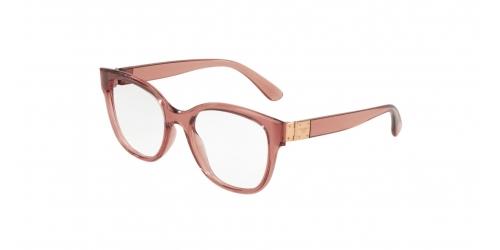 Dolce & Gabbana STONES & LOGO PLAQUE DG5040 3148 Transparent Pink