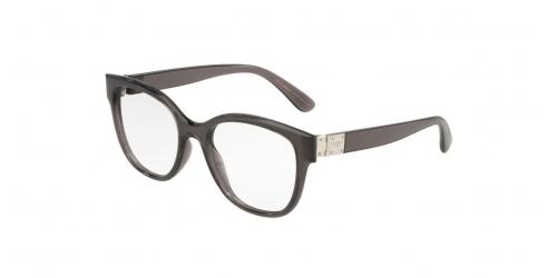 Dolce & Gabbana STONES & LOGO PLAQUE DG5040 504 Transparent Greyt
