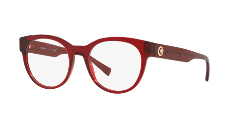 Versace Versace THE CLANS VE3268 388 Transparent Red