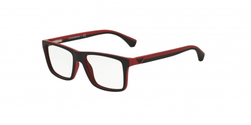 Emporio Armani EA3034 5324 Black/Red Rubber