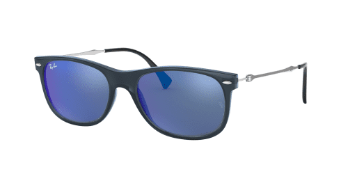 Ray-Ban RB4318 656/55 Transparent Blue