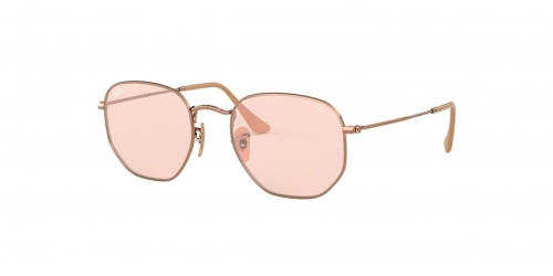 Ray-Ban RB3548N Hexagonal RB 3548N 91310X Copper