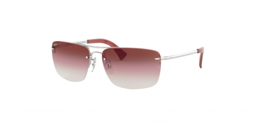 Ray-Ban RB3607 91280T Silver/Bordeaux