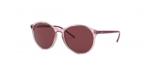 Ray-Ban RB4371 640075 Transparent Pink