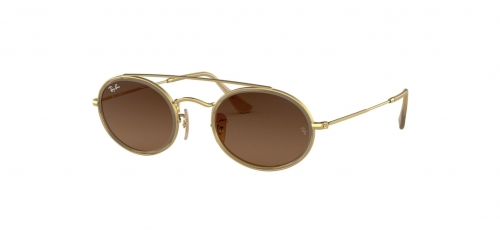 Ray-Ban OVAL DOUBLE BRIDGE RB3847N RB 3847N 912443 Gold