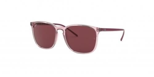 Ray-Ban RB4387 640075 Transparent Pink