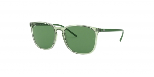 Ray-Ban RB4387 6402/2 Transparent Green