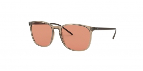 Ray-Ban RB4387 640374 Transparent Light Brown